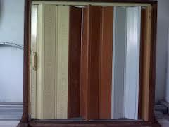 pintu lipat folding door PVC